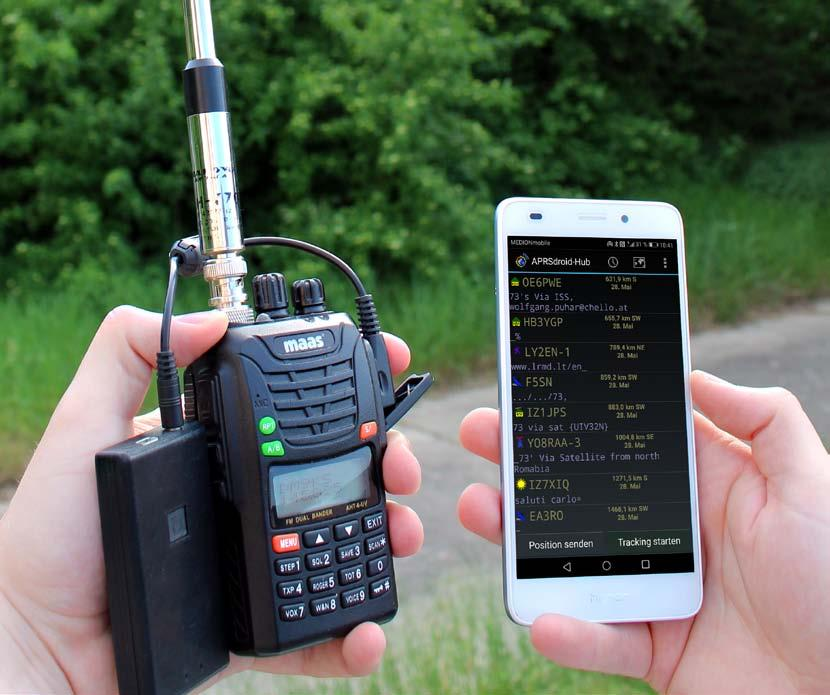 APRS via ISS – Tips for successful operation › HAMSPIRIT NET